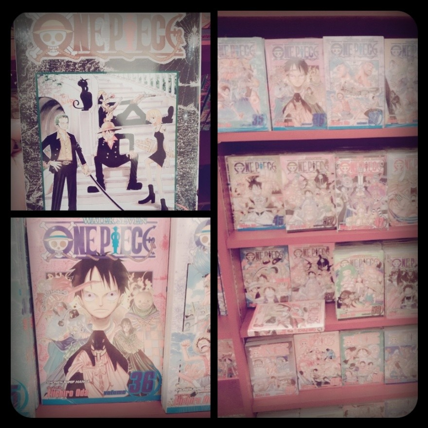One Piece Books