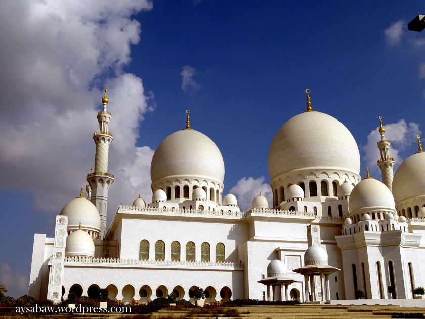 Grand Sheikh Zayed Mosque 2