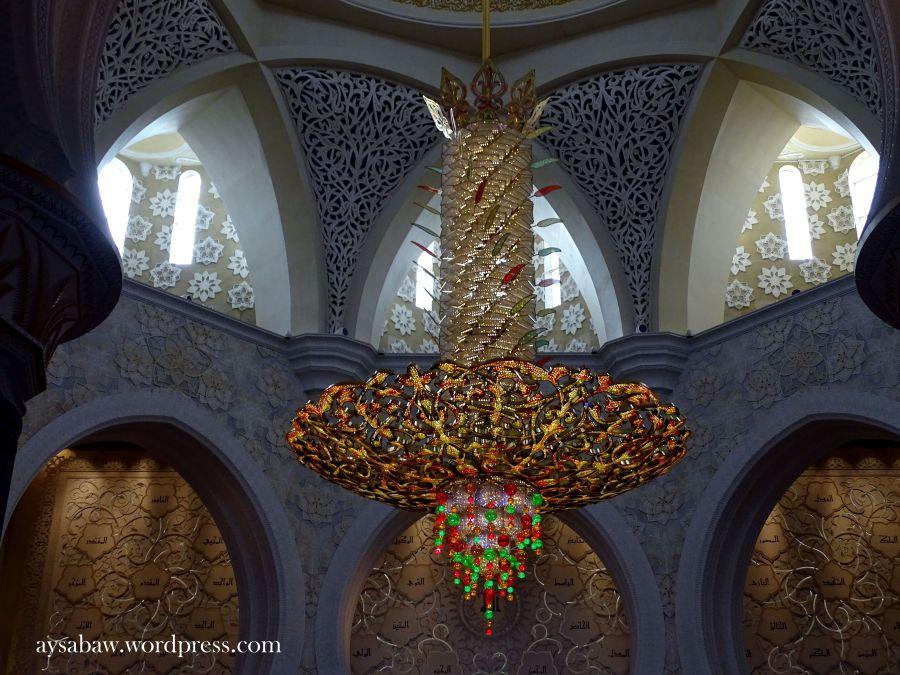 Grand Sheikh Zayed Mosque - Chandelier 1