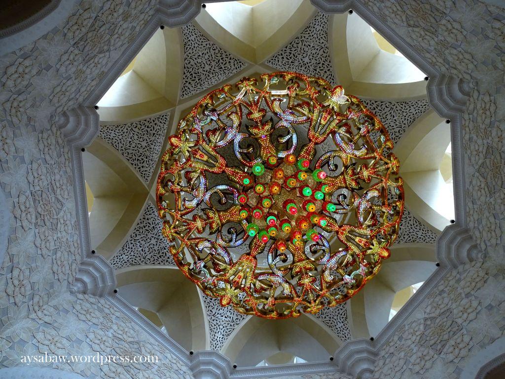 Grand Sheikh Zayed Mosque - Chandelier 3