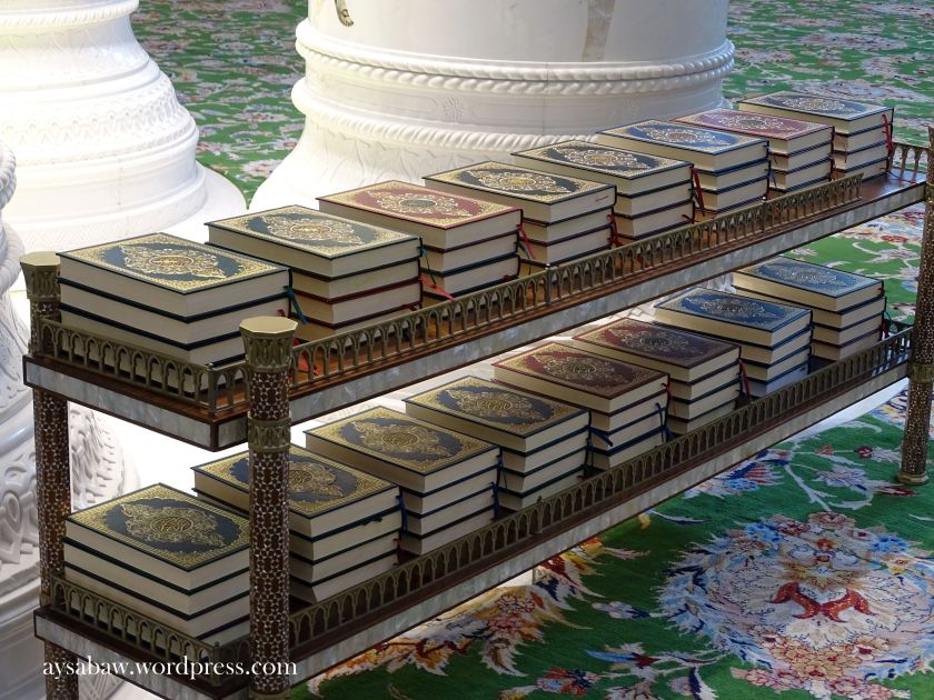 Grand Sheikh Zayed Mosque - Quran