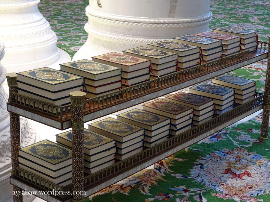 Grand Sheikh Zayed Mosque - Quran