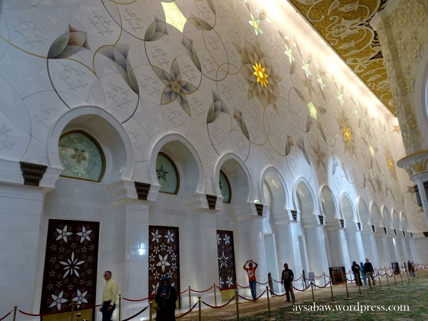 Grand Sheikh Zayed Mosque - Walls 1