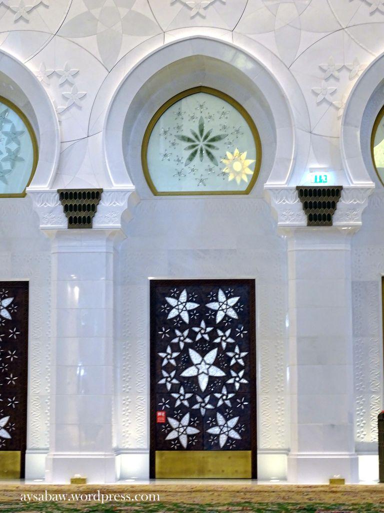 Grand Sheikh Zayed Mosque - Walls 2