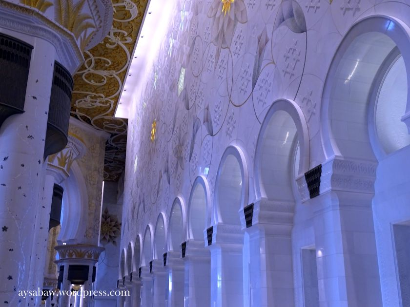 Grand Sheikh Zayed Mosque - Walls 3