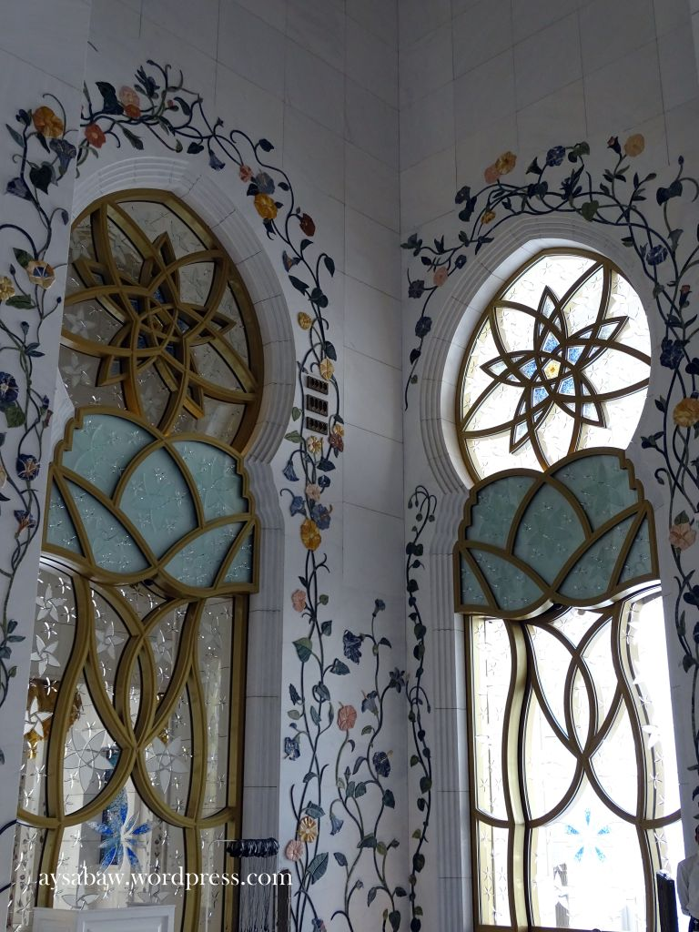 Grand Sheikh Zayed Mosque - Walls