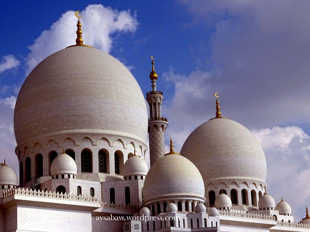 Sheikh Zayed Mosque – AbuDhabi