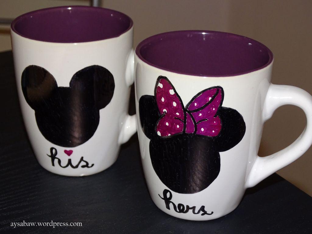 DIY Sharpie Mugs