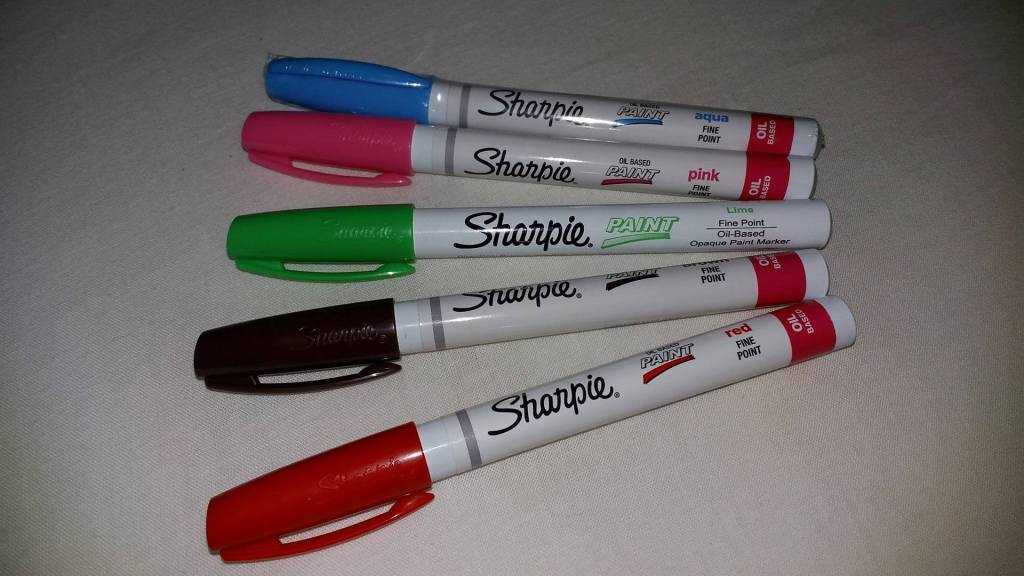 Oil Based Sharpies