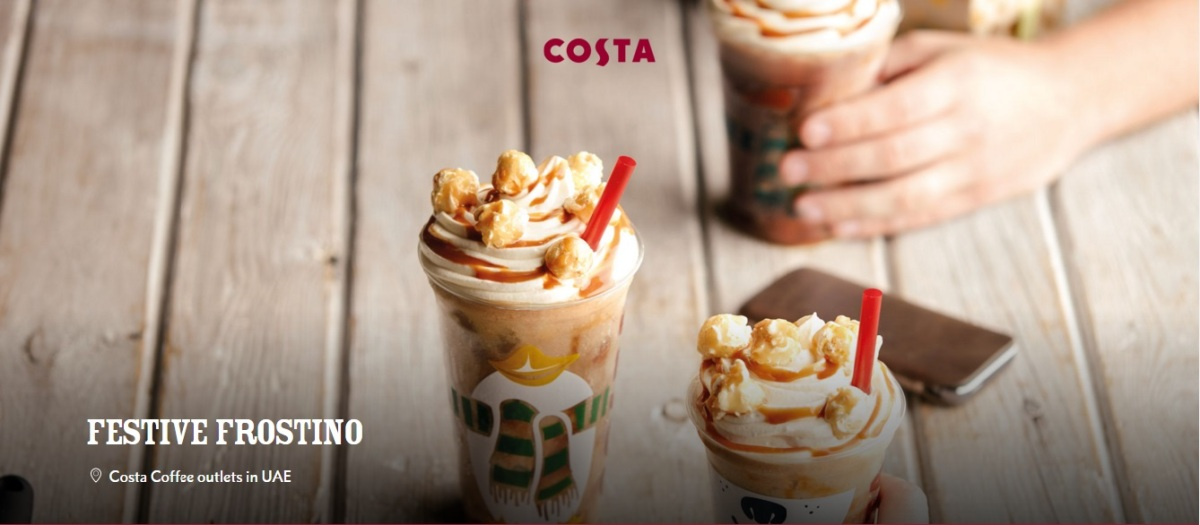 Free Costa Frostino, anyone?