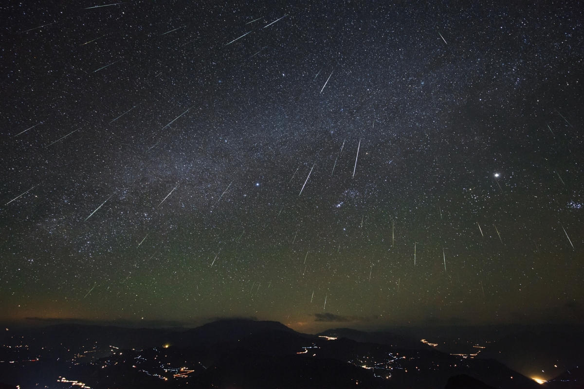 One Meteor Shower of a Night