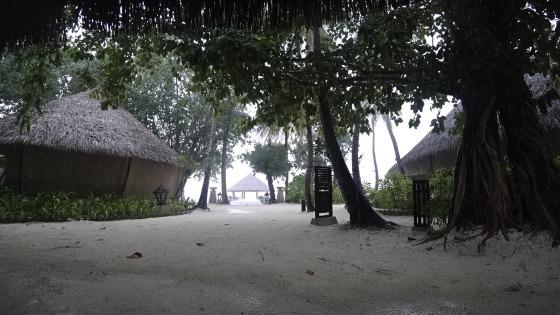 Rainy Maldives