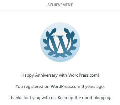 Eight Years onWordPress